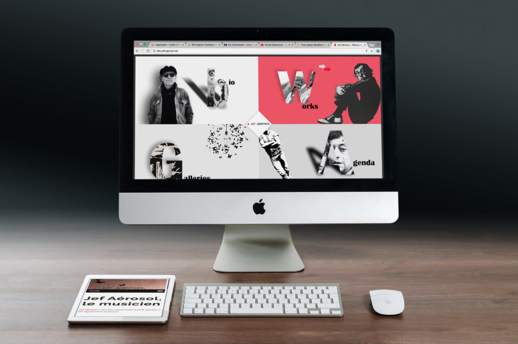 Jef aerosol site web